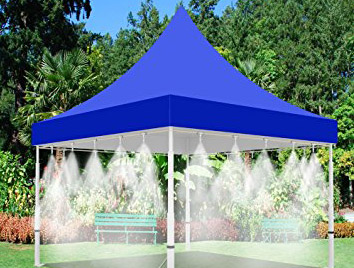 San Jose Water Company Misting Tent